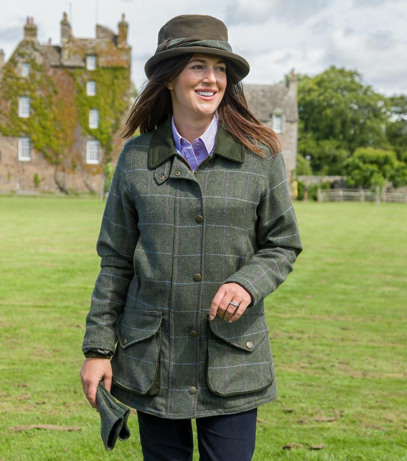 Hoggs of Fife Albany ladies tweed jakke