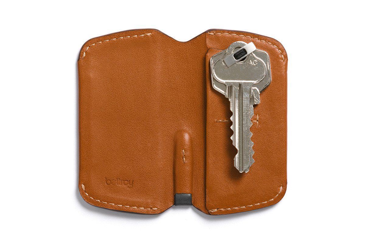 Image of   Bellroy Key Cover, nøgleetui, karamelbrun