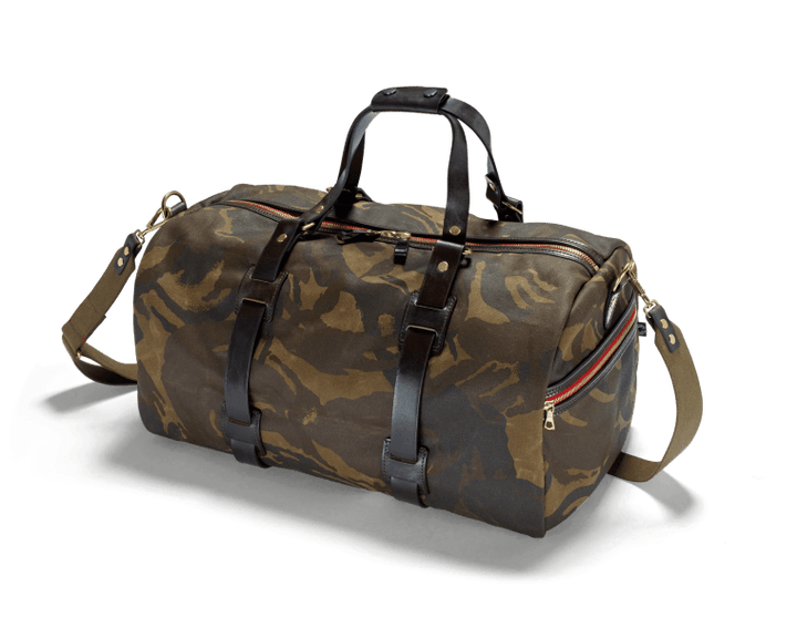 CROOTS Camouflage Duffle Holdall, kanvas