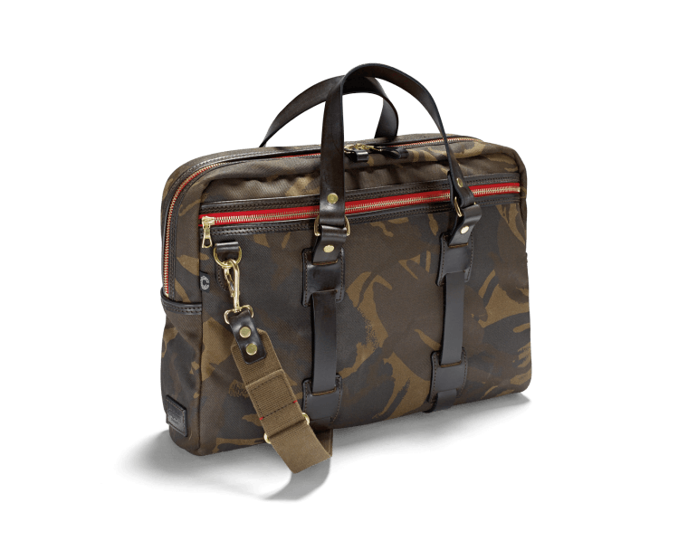 CROOTS Camouflage Laptop Bag, kanvas