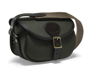 CROOTS Rosedale Cartridge Bag, kanvas, dark loden