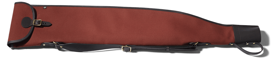 CROOTS Rosedale Roll-up Rifle Slip, kanvas, fox tan/ræverød