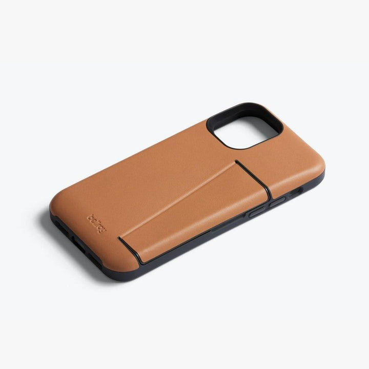 Phone Case - 3 Card, iPhone 12/12Pro, toffee