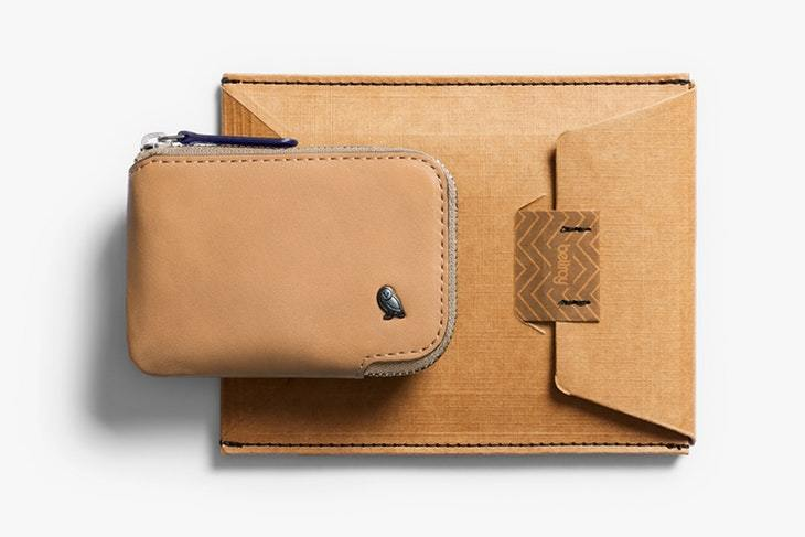 Bellroy Card Pocket, lysebrun
