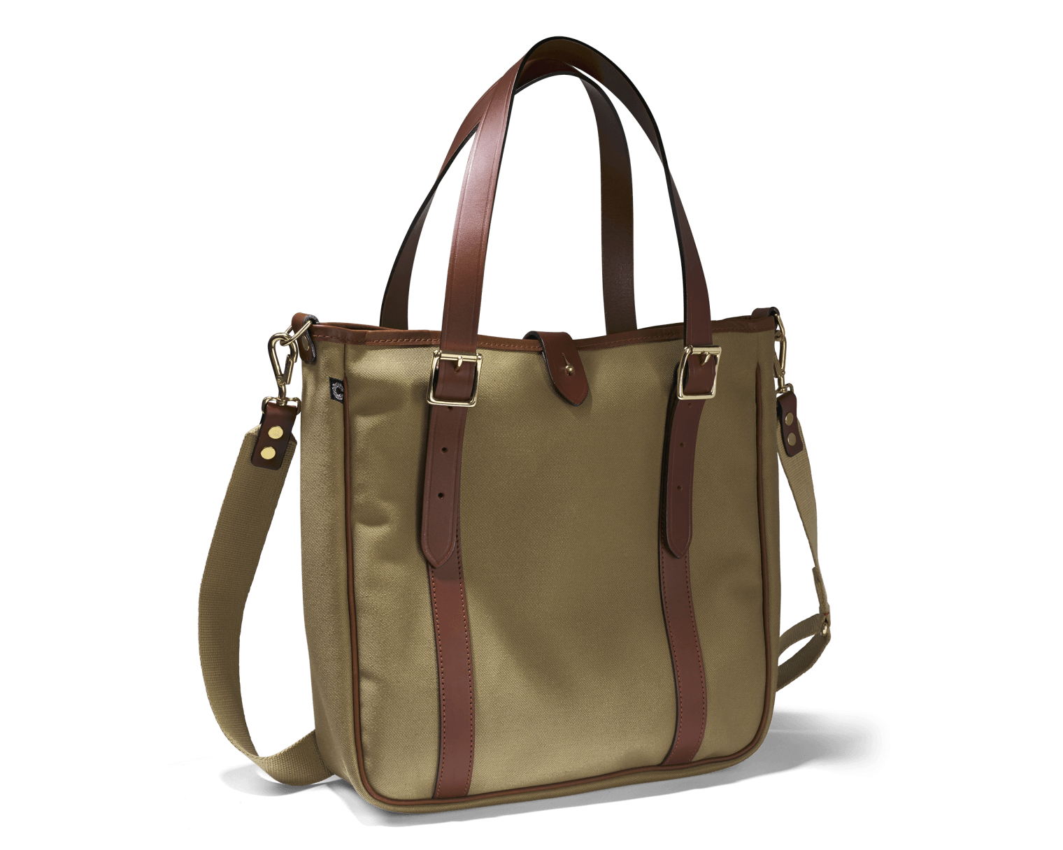 CROOTS Dalby Tote Bag, kanvas, khaki