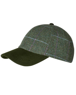 Albany tweed baseball cap