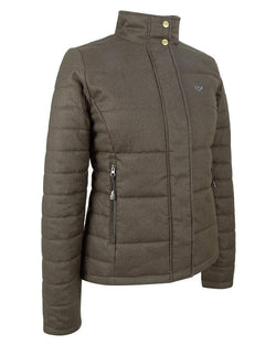 Elgin Ladies Quilted Jacket, mørk salviegrøn, str. 14