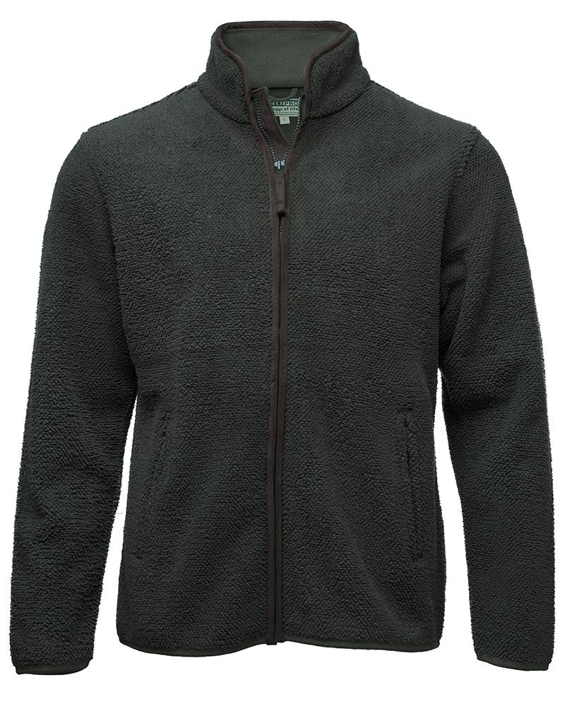 Cambridge Tufted Fleece Jacket, olivengrøn
