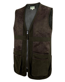 Struther Shooting Vest, skydevest, mørk grøn