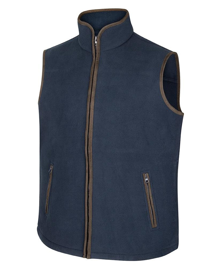 Woodhall Fleece Gilet, marineblå