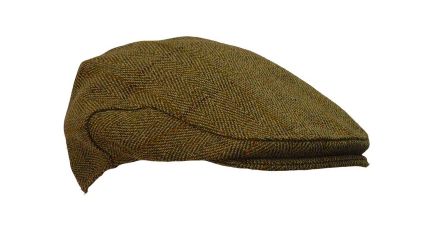 Image of   Tweed Country sixpence hat, lys salvie