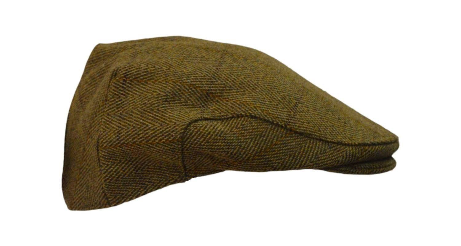 Tweed Country sixpence hat, lys salvie - Godsejeren.dk  - 2