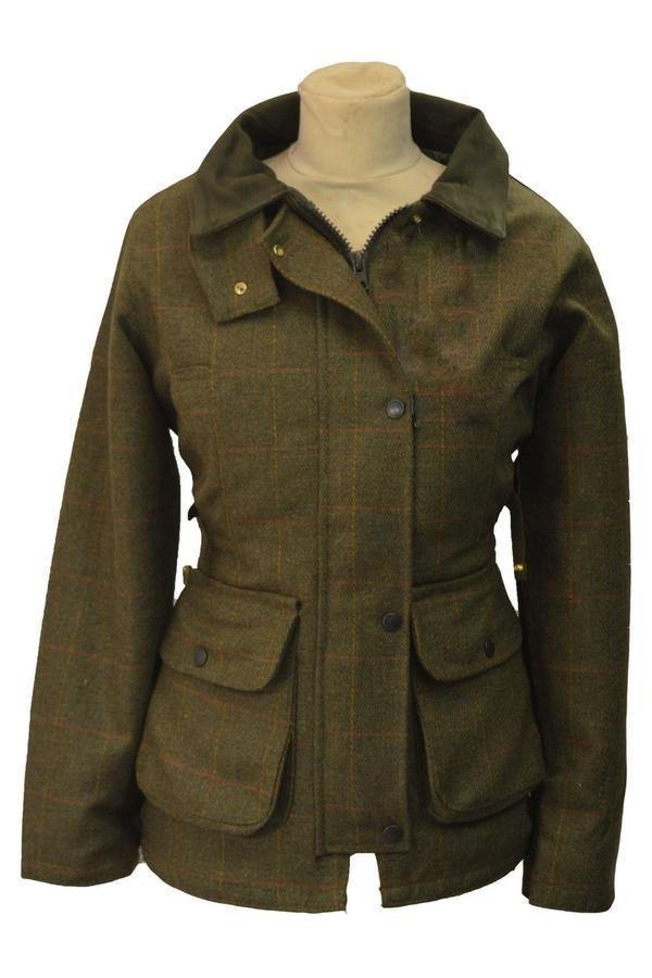 Tweed Country Ladies Jacket, mørk grøn