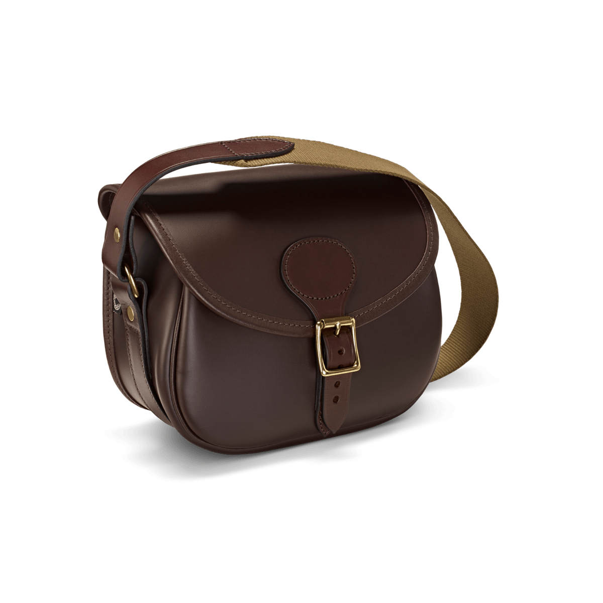 CROOTS Byland Cartridge Bag, læder, oxblood