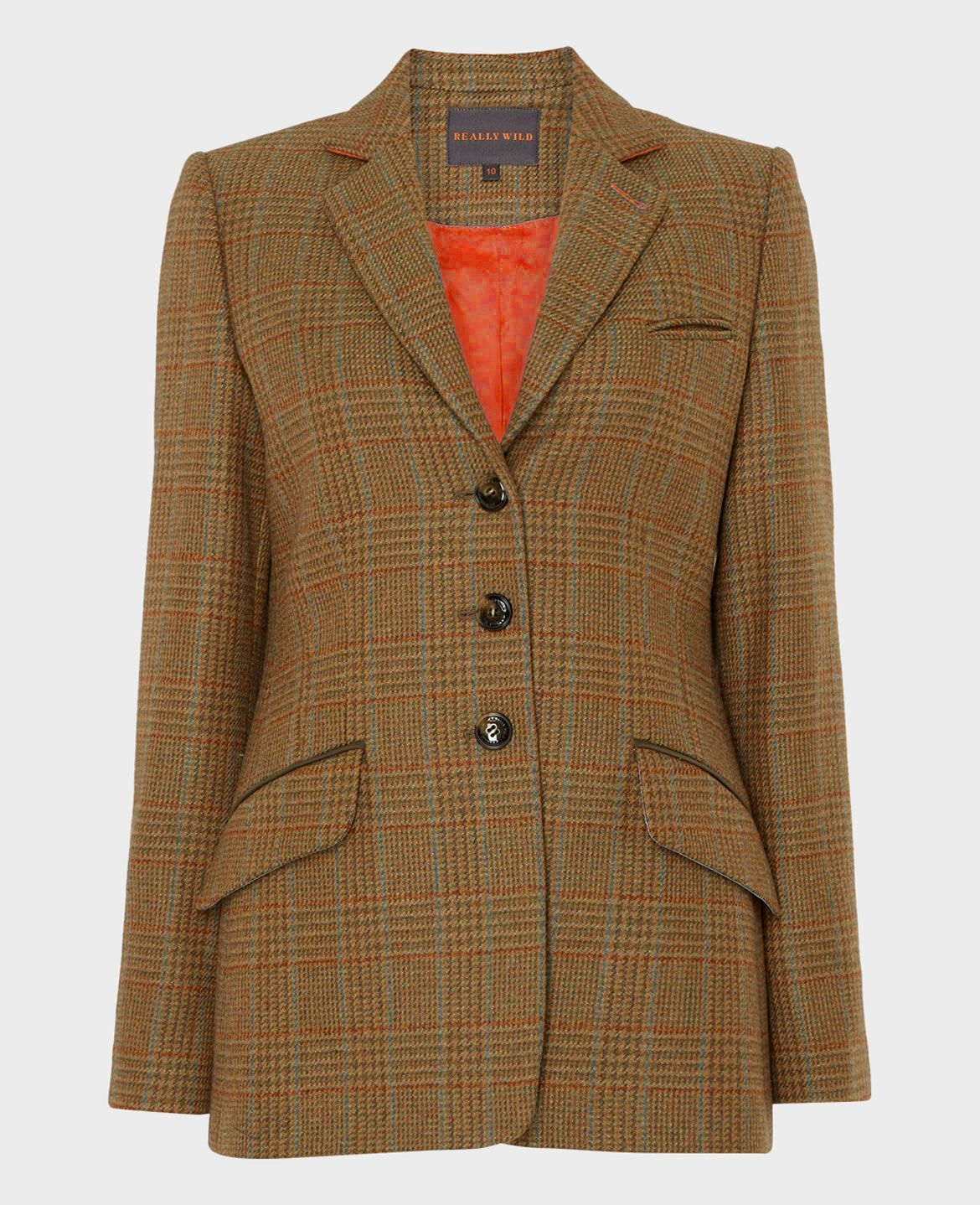 Ledbury Tweed Jacket, Acorn Blue