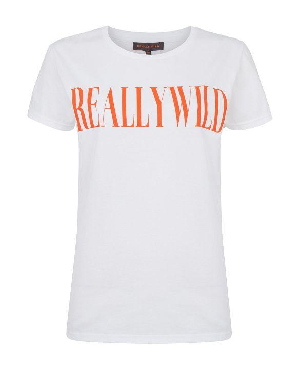 Really Wild T-shirt, hvid