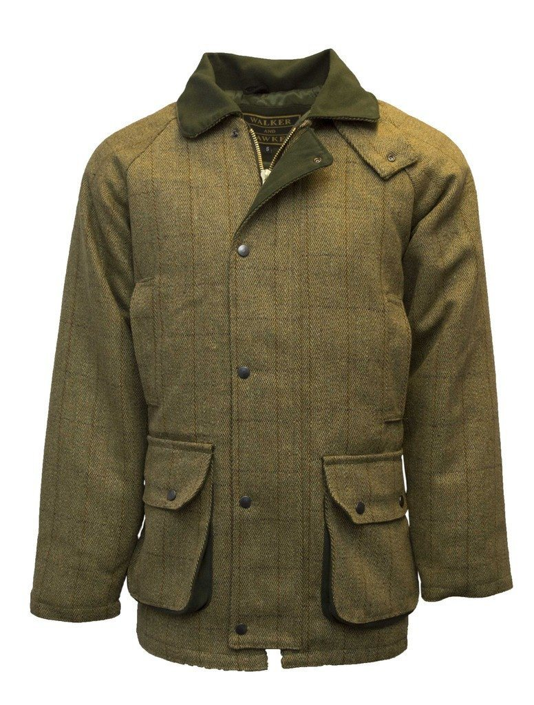 Image of   Tweed Country Jacket, lys salvie