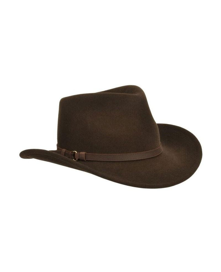 Outback Hat, brun
