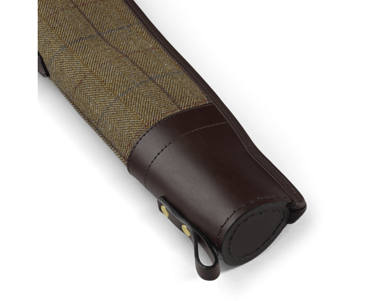 "CROOTS Helmsley Shotgun Slip 30"", tweed, burgundy"