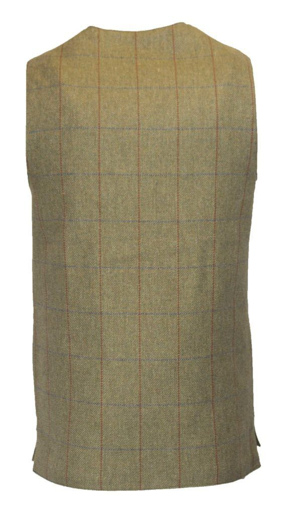 Winston skydevest, tweed, forest green