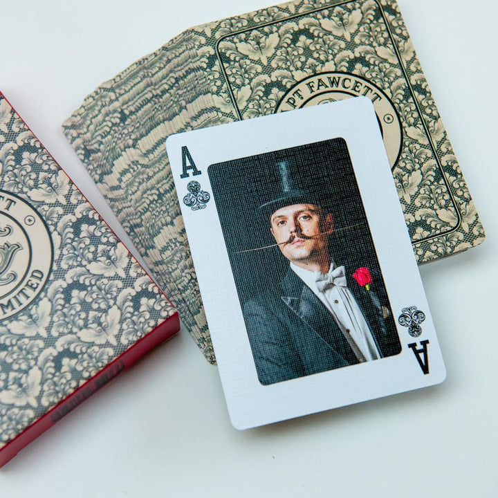 Captain Fawcett Playing Cards, spillekort