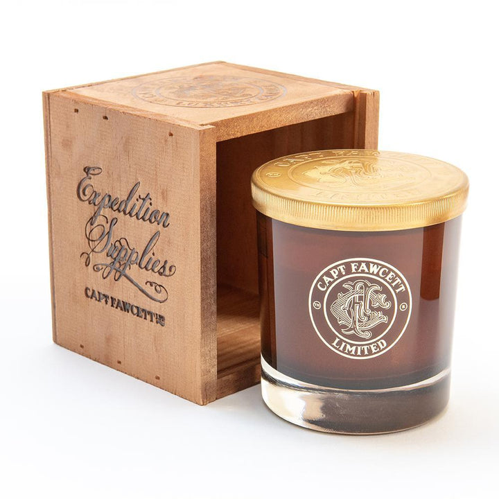 Captain Fawcett Luxurious Himalayan Temple Soy Candle, duftlys