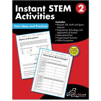 Instant STEM Activities: Core Ideas and Practices, Grade 2