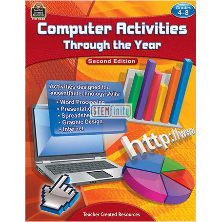 Computer Activities Through The Year Gr 4-8