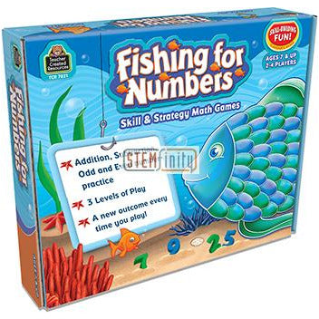 Fishing For Numbers Game Ages 7 Up