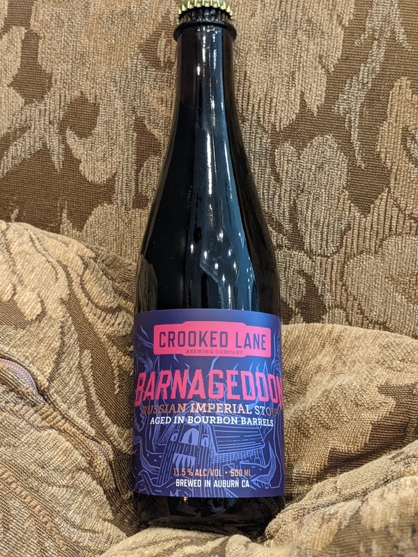 Barnageddon Barrel aged Russian Imperial Stout 500mL Bottle