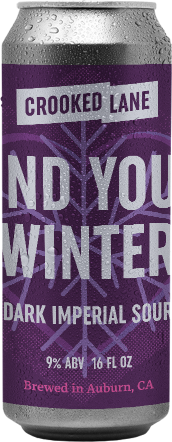 Find Your Winter - Imperial Sour with Raspberry, Blackberry, and Tart Cherries (4-Pack of 16 oz. cans)