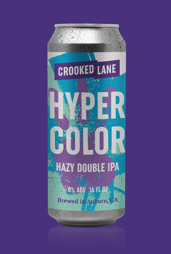 Hypercolor - Hazy Double IPA (4-Pack of 16 oz. cans)