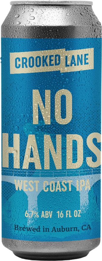 No Hands - West Coast IPA (4-Pack of 16 oz. cans)