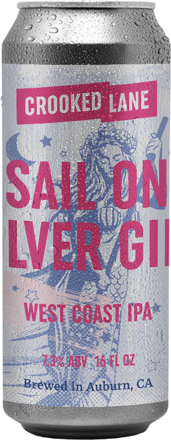 Sail On Silver Girl - West Coast IPA (4-Pack of 16 oz. cans)