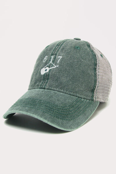 Hanging Guitar (617) Trucker - Green