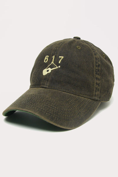 Hanging Guitar (617) Baseball - Black