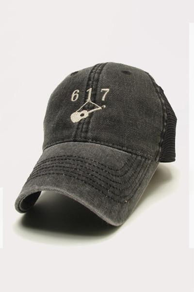 Hanging Guitar (617) Trucker - Black