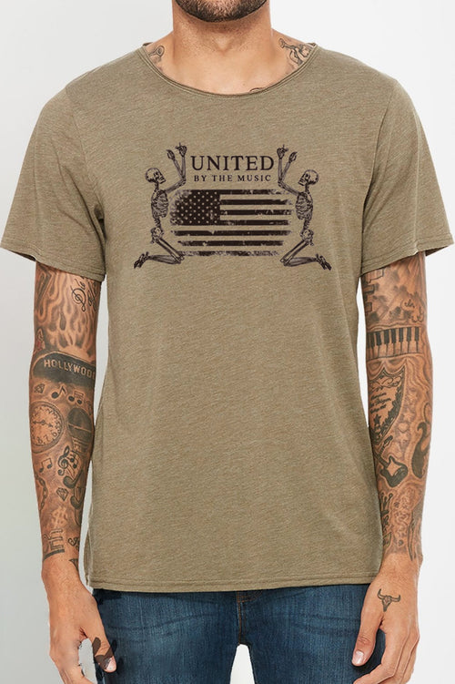 UNITED - Olive Wide Neck