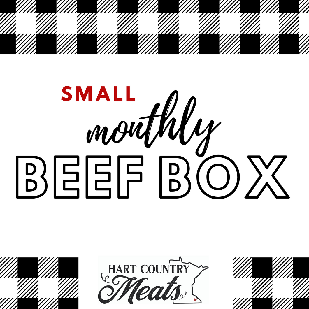 Beef Box Monthly Subscription-Small