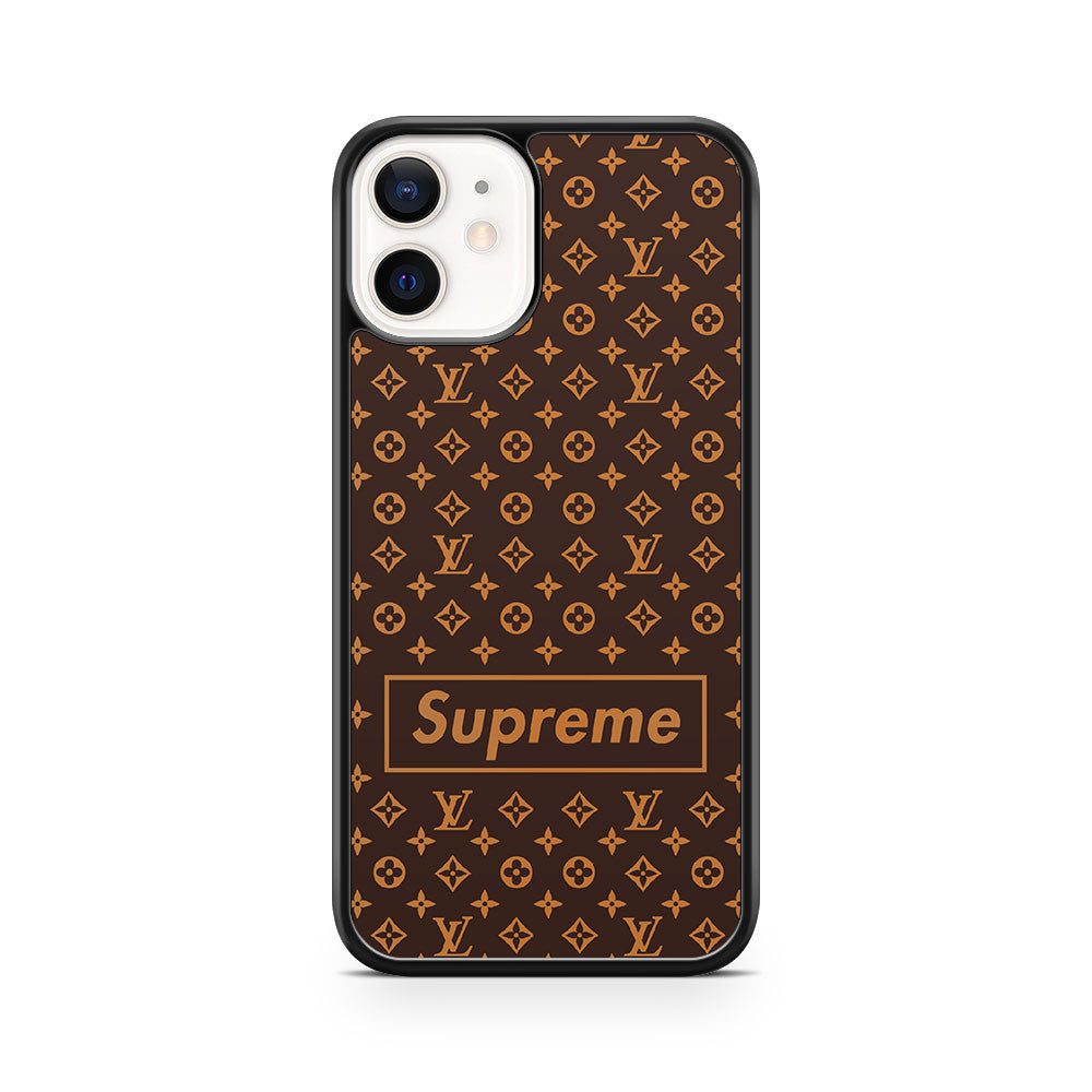 lv supreme 3 iPhone 12 Phone Case Cover