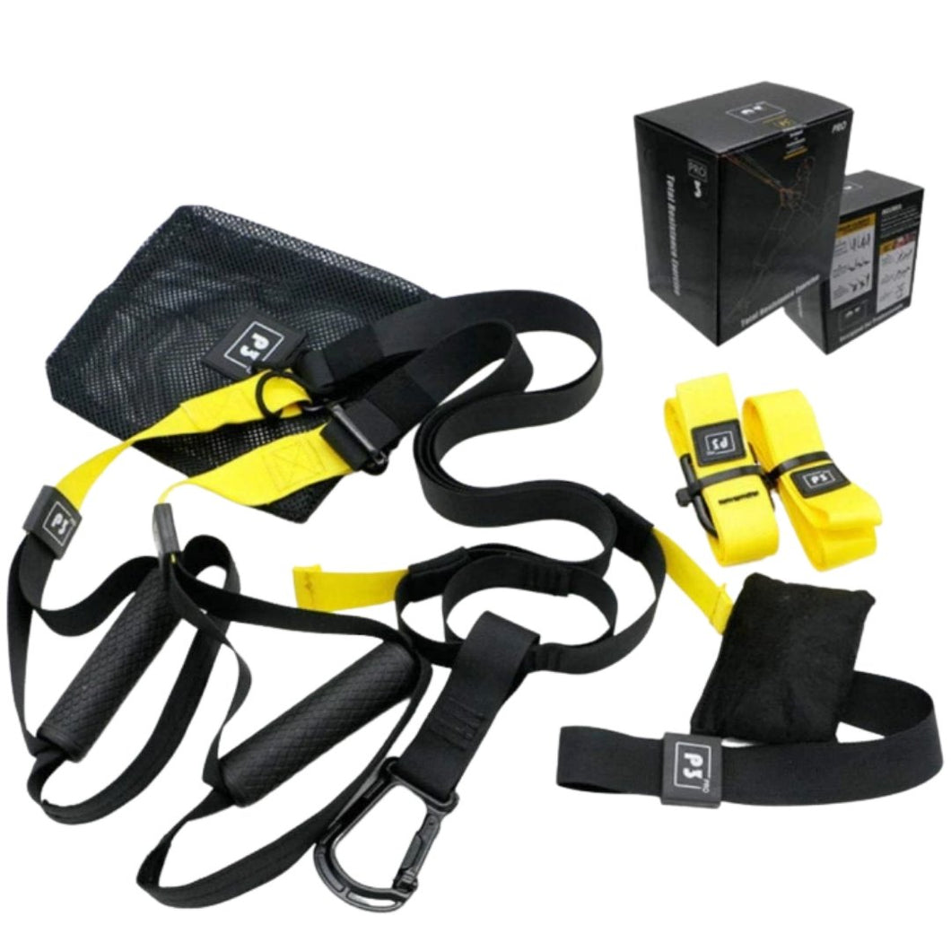 Train like a Navy Seal - Total Body Suspension Trainer TRX band - superhumanhomefitness