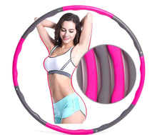 Load image into Gallery viewer, Fitness Hula Hoop - Ultimate Cardio and Ab Workout - superhumanhomefitness
