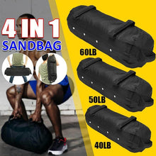 Cargar imagen en el visor de la galería, Lift, Swing, Press, Repeat - Heavy Weighted Sandbag - superhumanhomefitness