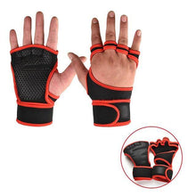 Load image into Gallery viewer, Unisex Weightlifting Gloves - superhumanhomefitness
