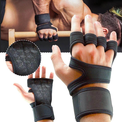 Unisex Weightlifting Gloves - superhumanhomefitness