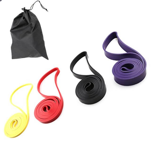 4 Piece Resistance Band Set - Pull up and stretch out - superhumanhomefitness