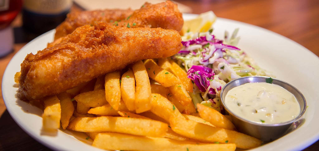 KIDS FISH AND CHIPS - HUNGERSSTOPYYC