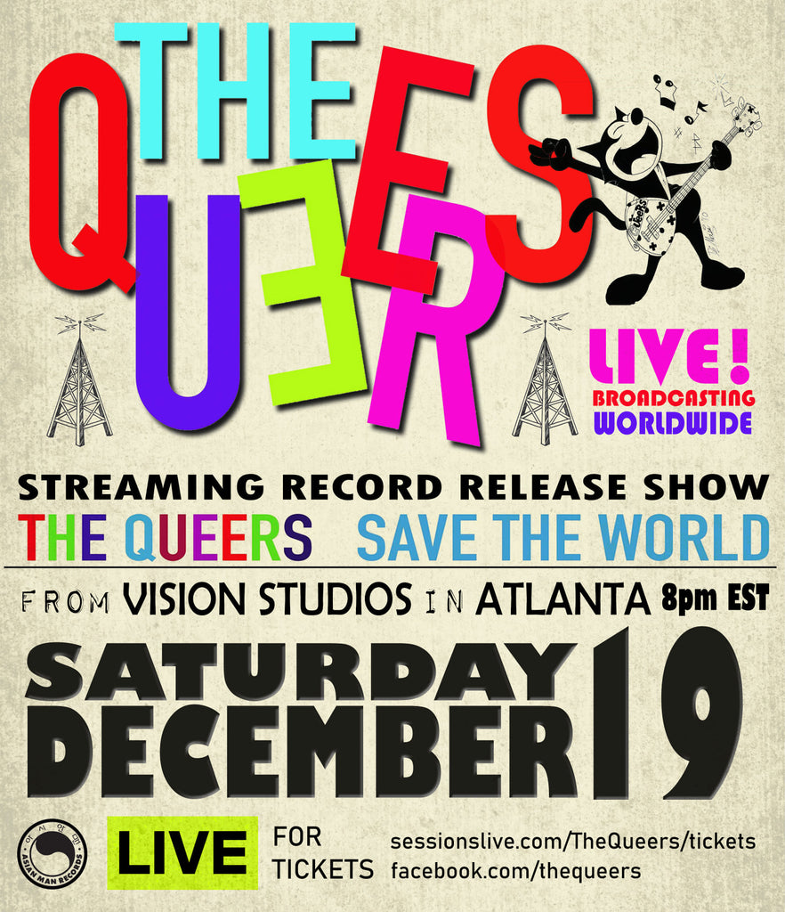 The Queers live stream