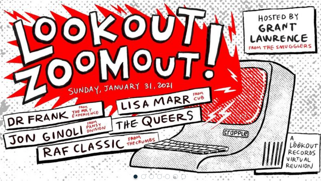 The Queers in Lookout Zoomout!