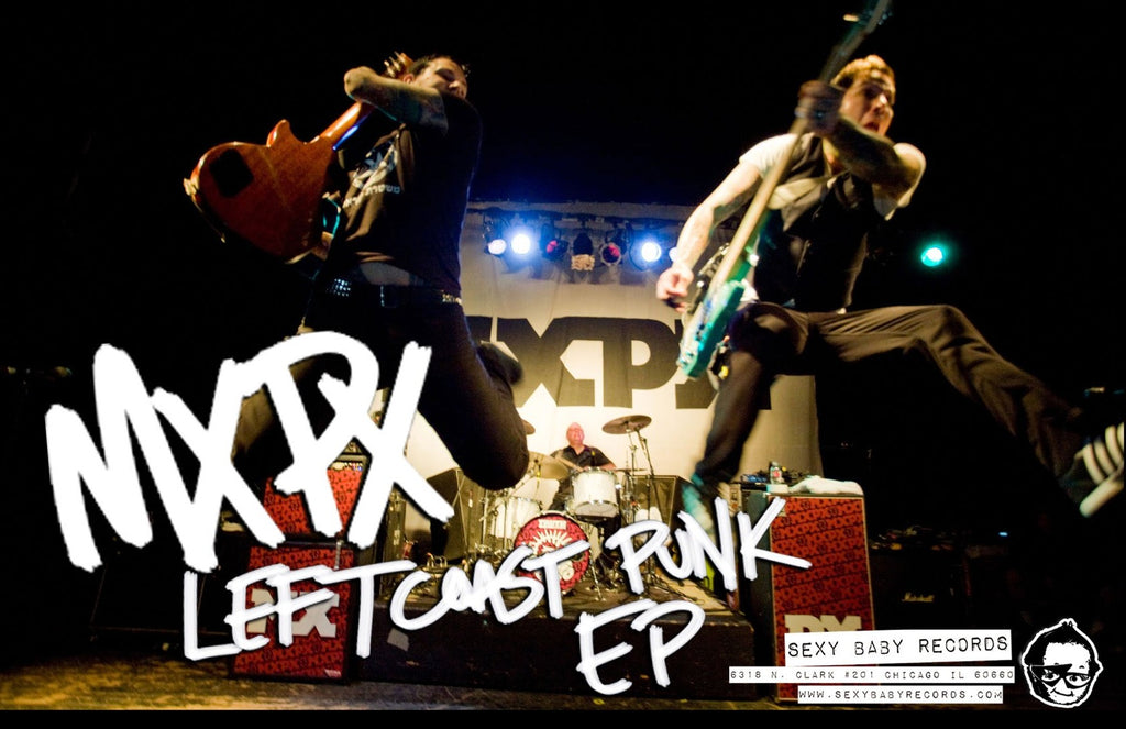 "MxPx ""Left Coast Punk EP"" Poster"